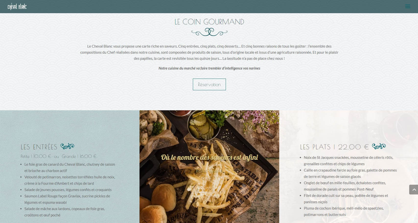 Le Coin Gourmand_Site du Cheval Blanc